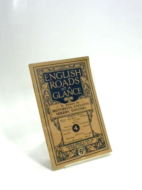English Roads at a Glance, No. 4 By Unknown