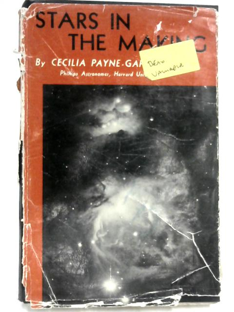 Stars in the Making by Cecilia Payne-Gaposchkin