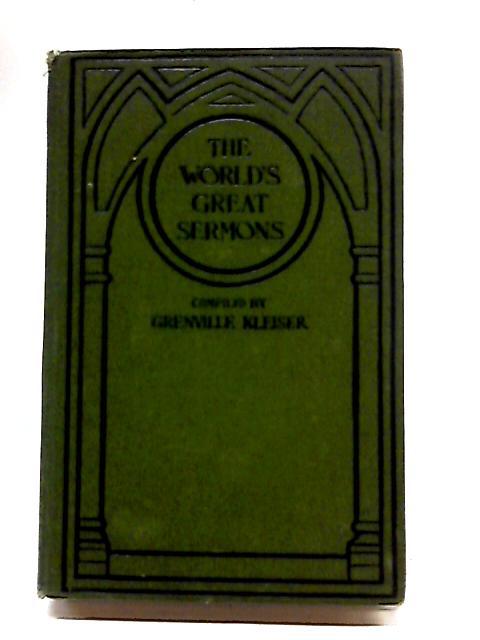 The World's Great Sermons Volume IX Cuyler - Van Dyke by Kleiser