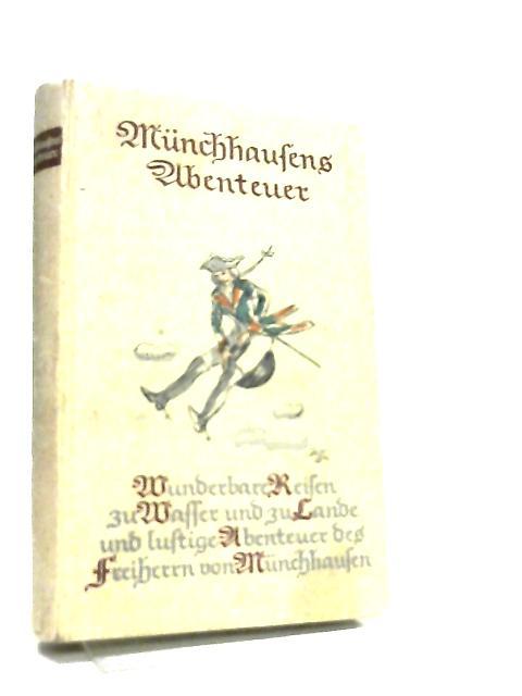 Munchhausen Ubenteuer by Freiherrn von Muchhausen