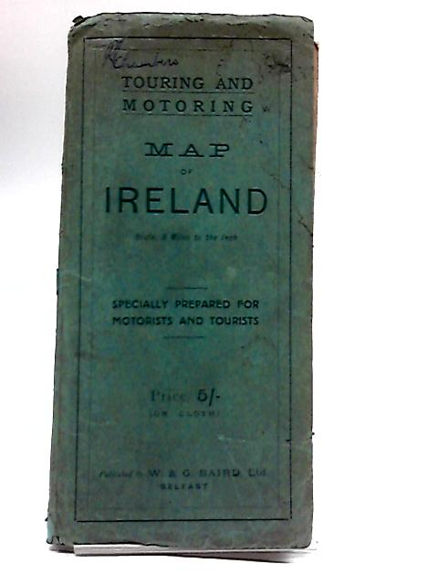 Johnston's Motoring & Touring Map of Ireland by W. & A. K. Johnston