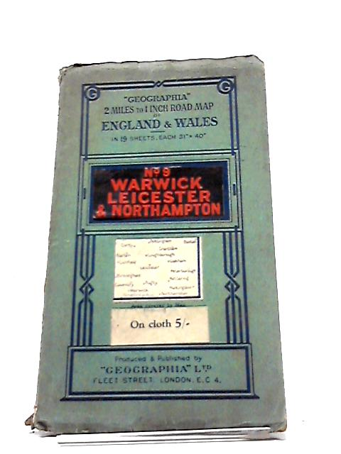 Geographia Map Sheet 9 Warwick Leicester And Northampton by Anon