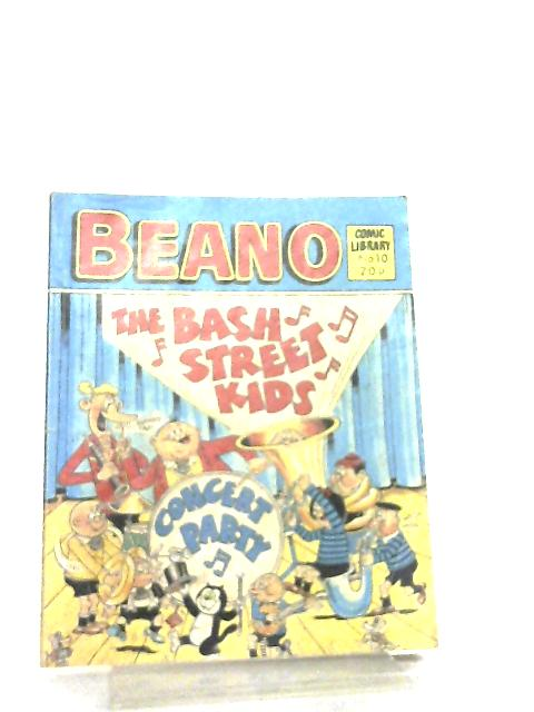 Beano Comic Library No 10 By Anon