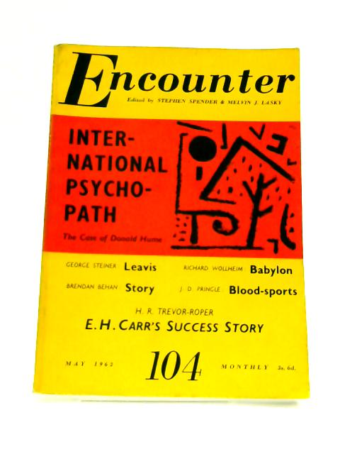 Encounter: May 1961 Vol. XVI No. 5 by Stephen Spender (Ed)