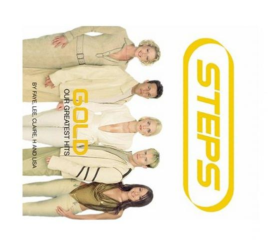 Steps Gold: Our Greatest Hits - The Official Book by Steps