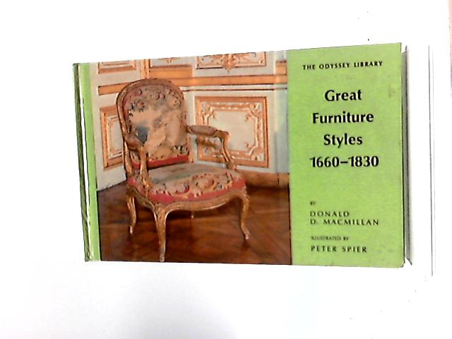 Great Furniture Styles 1660 1830 By Donald D Macmillan