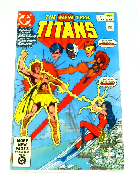 New Teen Titans: Vol 2 # 11 by Marv Wolfman