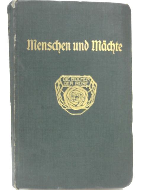 Menschen und Mächte: Ausgewählte Erzählungen by E. T. A Hoffmann