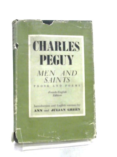 Men and Saints by Charles Peguy