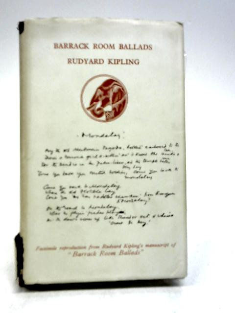 Barrack Room Ballads by Kipling, Rudyard