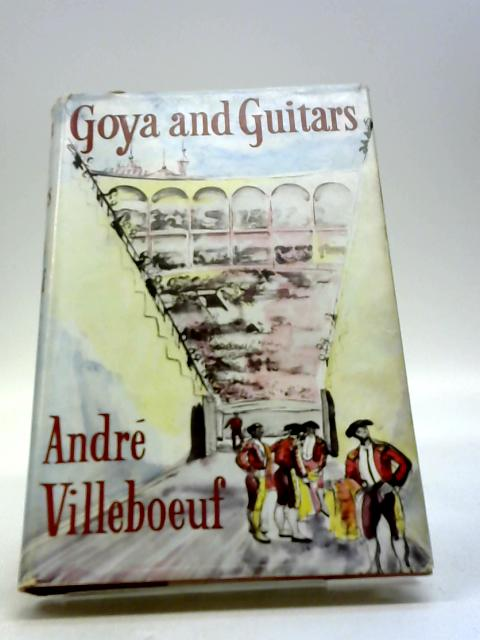 Goya and guitars by VILLEBOEUF, Andre