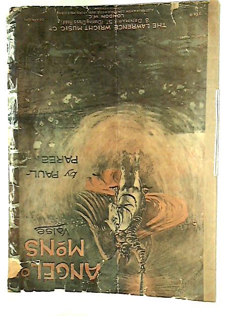 Angelo Mons Valse by E W Cole.