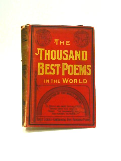 The Thousand Best Poems in the World by E.C. Cole (ed)