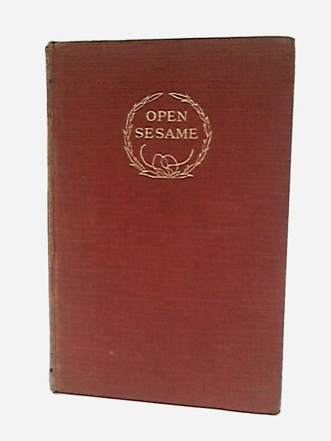 Open Sesame: A Collection Of Poems And Rhymes For Children. In Three Parts. by J. Compton