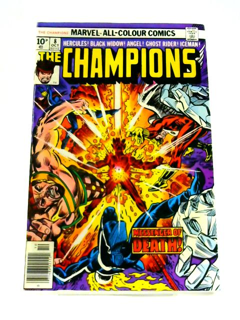 The Champions: No. 8 by Bill Mantlo