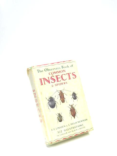 The Observer's Book of Common Insects & Spiders by E. F. Linssen