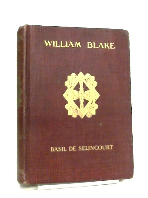 William Blake by Basil de Selincourt