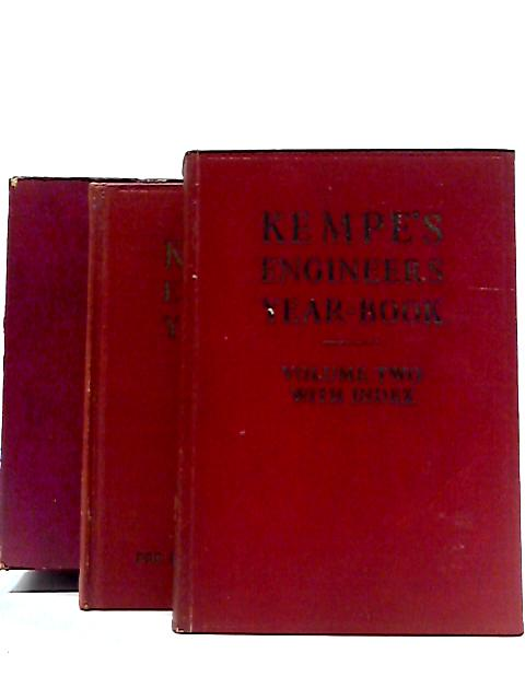 Kempe's Engineers Year-Book form 1974, 2 volumes by Unstated