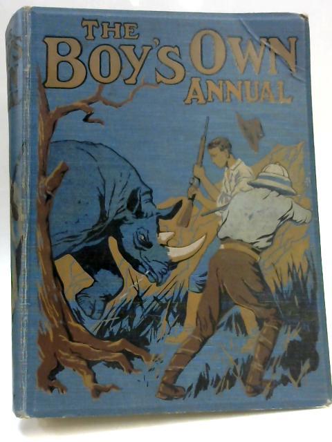 The Boy's Own Annual. Volume 44, 1921-1922 by Arthur Lincoln Haydon