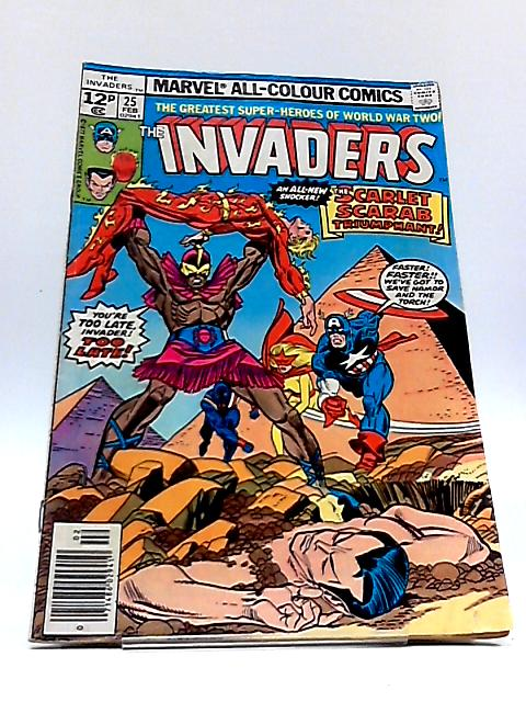 The Invaders Vol. 1 No. 25 by Roy Thomas