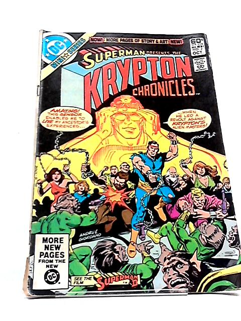 Superman Presents: The Krypton Chronicles - Issue # 2 by DC Comics