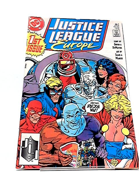 Justice League Europe Issue 1 April 1989 (Collectors Item) by Giffen & Dematteis