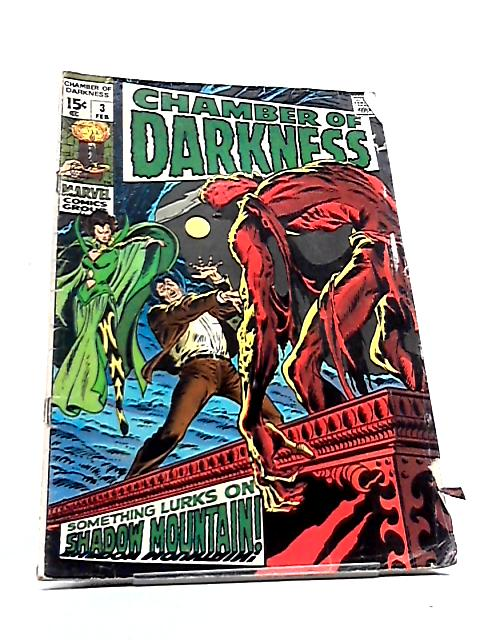 Chamber of Darkness Vol. 1 No. 3 by Gerard Conway