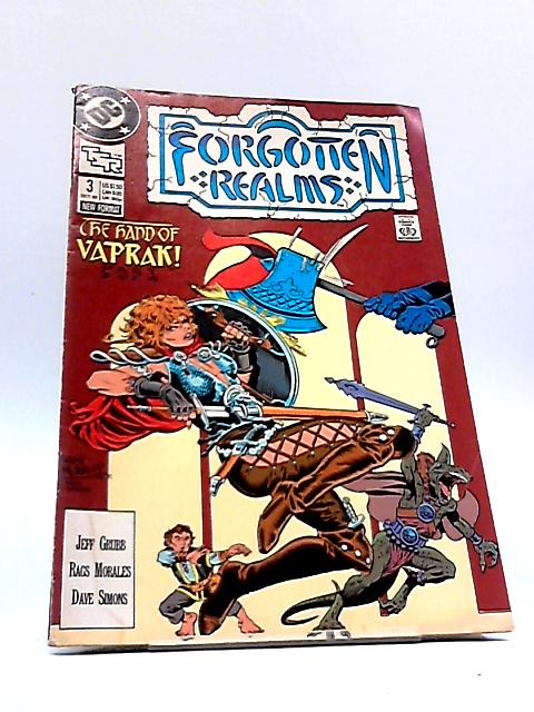 Forgotten Realms # 3 by Jeff Grubb