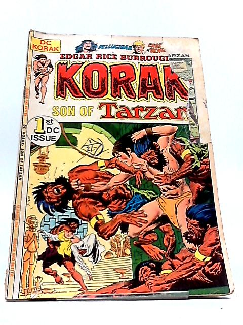KORAK SON OF TARZAN Vol.9 Numero 46: The treasure vaults of Opar by Edgar Rice Burroughs