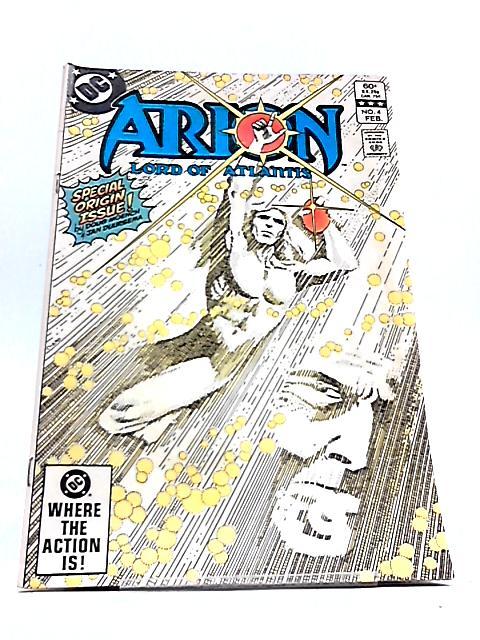 Arion Lord of Atlantis Vol. 2 No. 4 by DC Comics