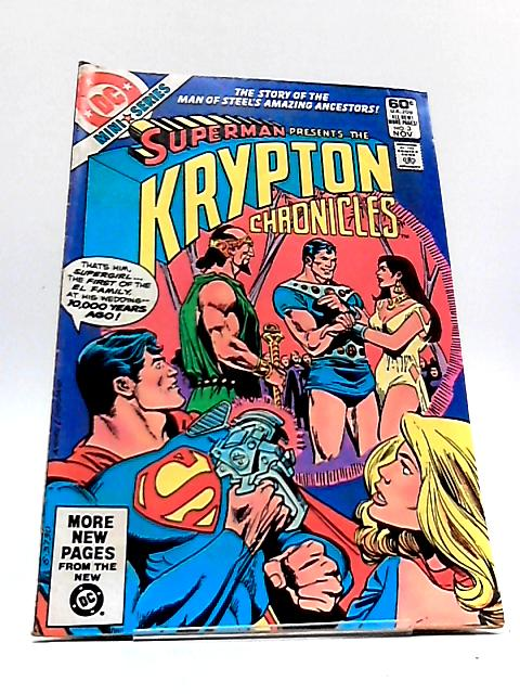Krypton Chronicles Vol. 1 No. 3 by E. Nelson Bridwell