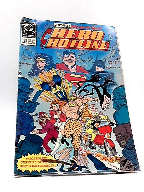 Hero Hotline 1 0F 6 apr 89 by DC Comics
