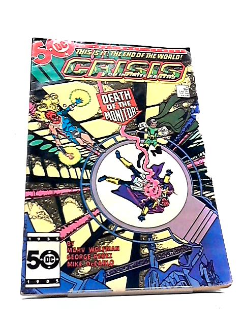 Crisis on Infinite Earths #4 by Marv Wolfman