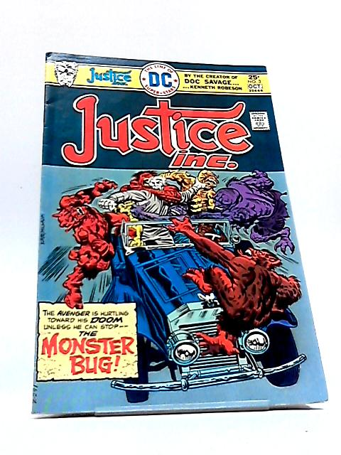 Justice Inc. Vol. 1 No. 3 by Denny O'Neil