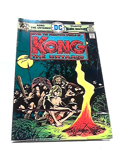 Kong the Untamed Vol. 1 No. 2 By Jack Oleck