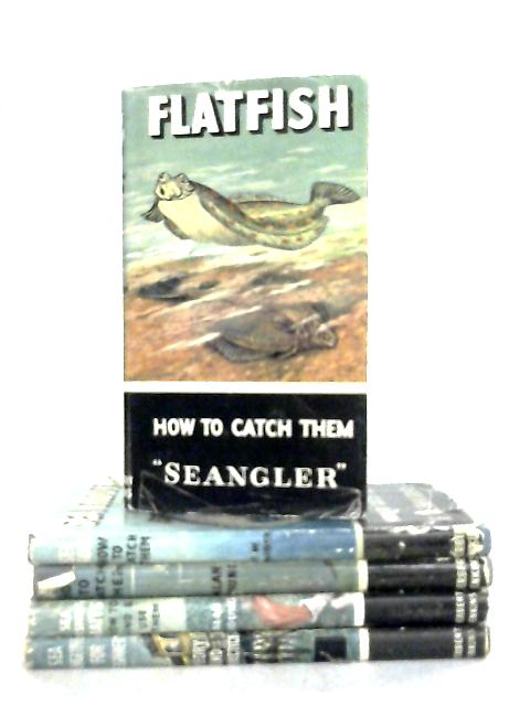 Set of 5 Sea Fishing Manual Books by Various