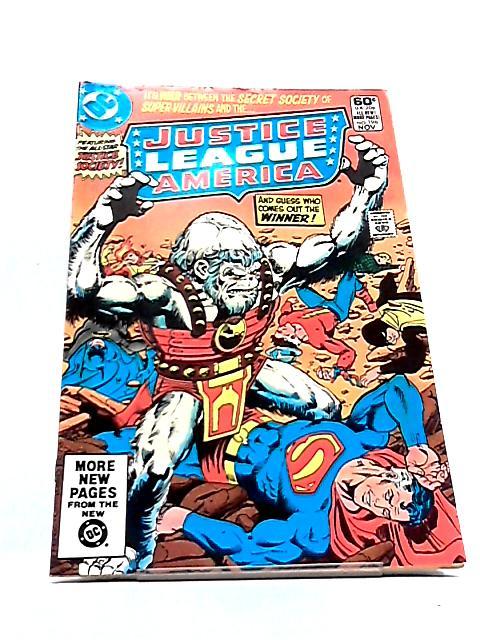Justice League of America Vol. 22 No. 196 by Gerry Conway