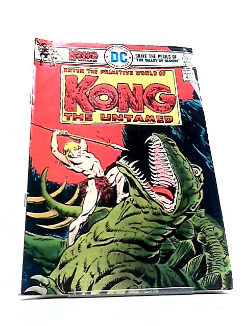 Kong the Untamed Vol. 1 No. 4 by Gerry Conway