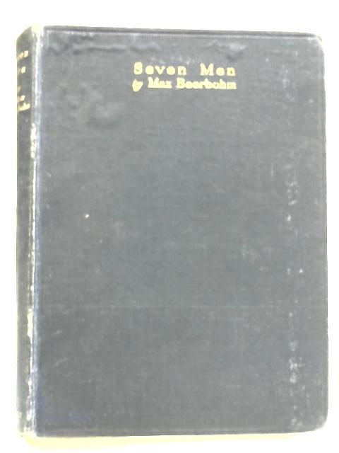Seven Men by Beerbohm, Max
