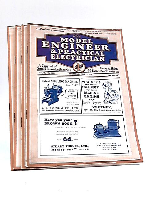The Model Engineer & Practical Electrician: June 5th, 12th, 19th, 26th 1930 By Various