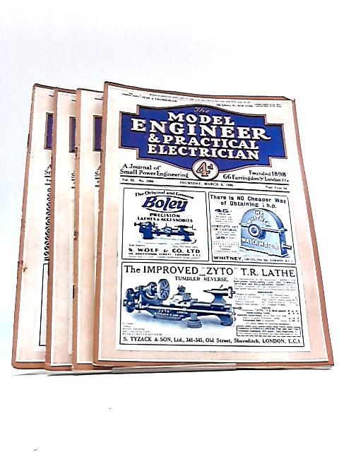 The Model Engineer & Practical Electrician: March 6th, 13th, 20th, 27th 1930 By Various