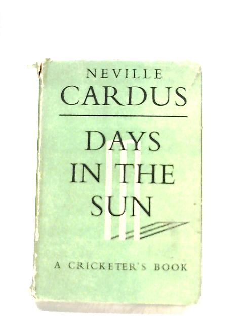 Days in the Sun by Cardus