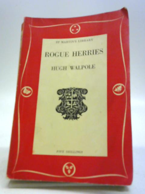 Rogue Herries by Hugh Walpole