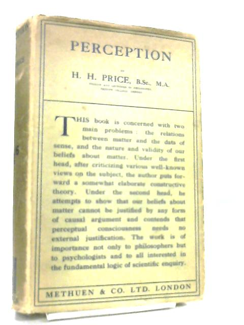 Perception by H. H. Price