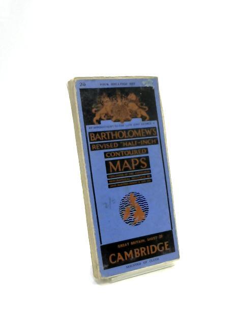 Bartholomew's Revised Half-Inch Contoured Maps: Cambrid Book (Anon) (ID:65114)