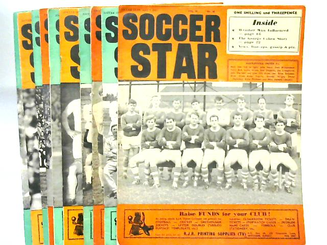 Soccer Star Magazine x 10 issues Various Dates Apr-Jul 1967 by Anon