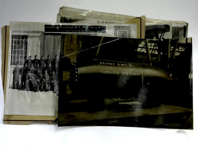 Set of 6 Vintage Military Photos and Command Workshop 1948 by Anon
