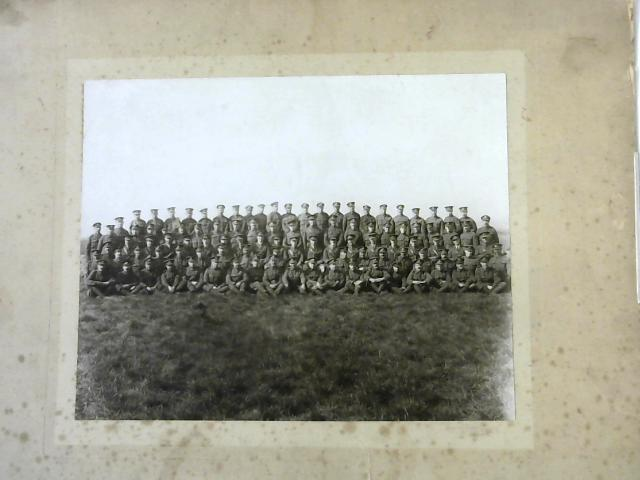 Large Format Vintage Military Photograph By Anon