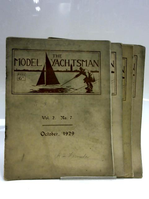 Set of 5 Model Yachtsman Volumes by Anon
