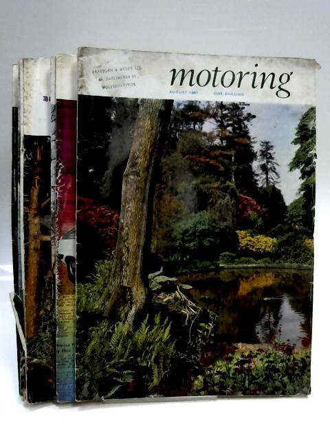 Set of 8 Motoring Magazines From the 1960's by Anon